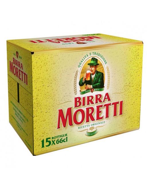 Birra moretti cartone da 15 bottiglie